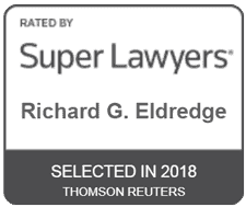Super Lawyers 2018 for Richard Eldredge