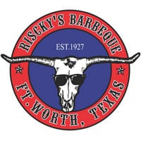 risckys barbeque est 1927 ft worth Trademark Logo by Eldredge Law Firm